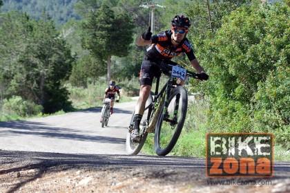 El corredor del Bikezona Team David Puente en la selección vasca para Moralzarzal
