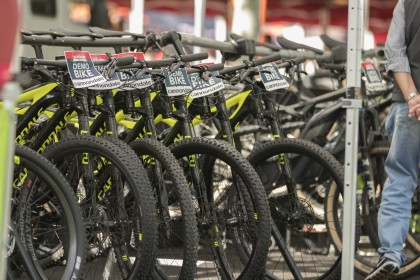 El Demobike de la Sea Otter Europe lugar clave para decidirse por una bicicleta