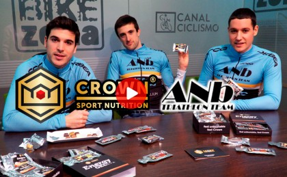 El equipo ANB Triatlón Team prueba en directo los productos Crown Sport Nutrition