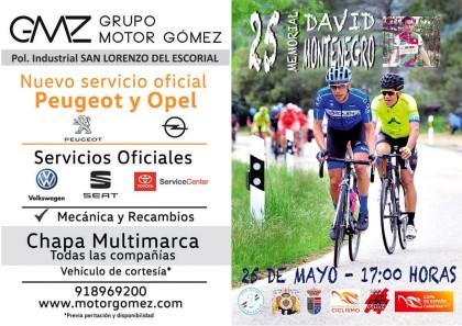 El Escorial y San Lorenzo celebran el 25 Memorial David Montenegro de Ciclismo