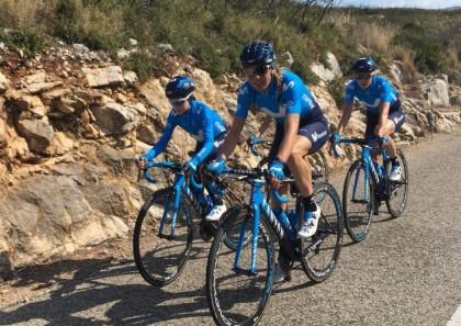 El Movistar Team femenino debuta en la Setmana Valenciana