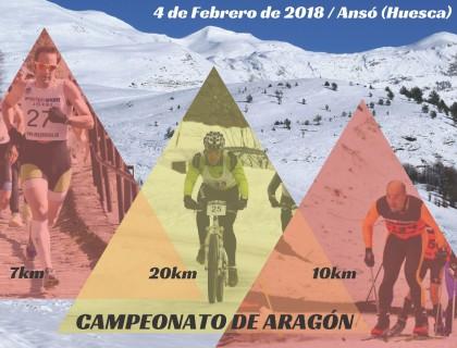 El XVIII Triatlón de Invierno Valle de Ansó