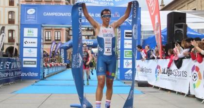 Emilio Martín a por su tercer título mundial de duatlón Fyn
