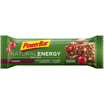 Energía natural con las barritas Energy Fruit Bar de Powerbar