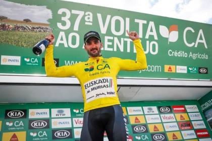Enrique Sanz logra la segunda victoria para Euskadi-Murias en Portugal