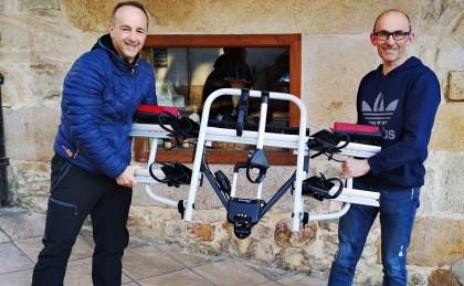 Entregado el portabicicletas ATERA Strada E-bike ML ...¡Enhorabuena al ganador!