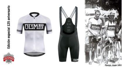 Equipación edición especial 125 aniversario de Olympia