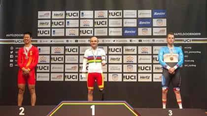 España se estrena con récord del mundo  en el Mundial de Pista de Ciclismo Adaptado