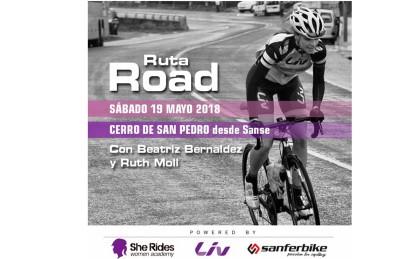 Esté sábado ruta femenina de carretera organizada por She Rides
