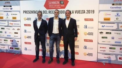 Euskadi-Murias en la presentación de La Vuelta