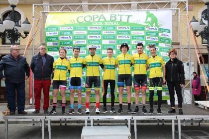 Falces acogió la segunda puntuable de la Copa Caja Rural BTT 2019