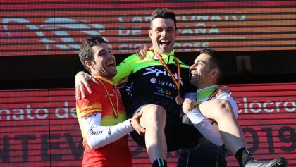 Felipe Orts logra su primer nacional de ciclocross en Pontevedra