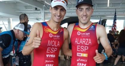 Fernando Alarza es el nuevo líder del Mundial de Triatlón