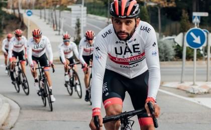 Fernando Gaviria estrena los colores del UAE Team Emirates en San Juan