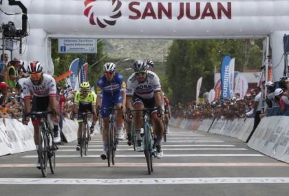 Fernando Gaviria suma un nuevo triunfo en la Vuelta a San Juan