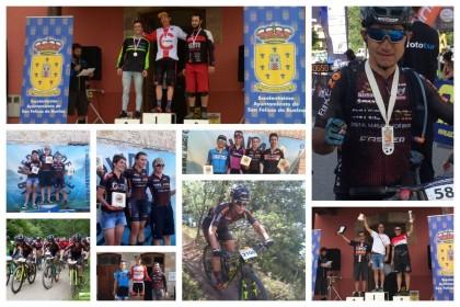 Fin de semana de éxitos y podios para el BZ Team