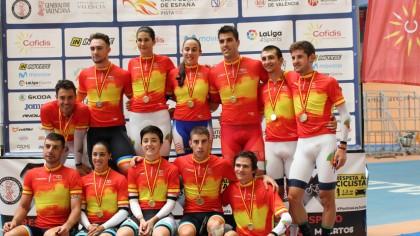 Finaliza un exitoso Campeonato de España de Pista en Valencia