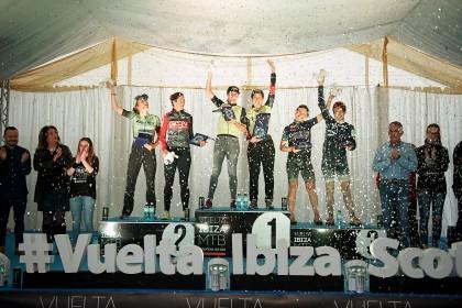 Finaliza la Vuelta a Ibiza MTB más épica marcada por la lluvia y el barro