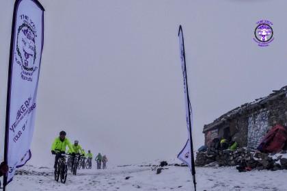 Finaliza la Yeti Bike Race tras rodar a 5.416 metros de altitud