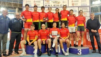 Finalizó en Valencia la Copa de España de Pista