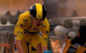 Alberto Contador ya es segundo en la general del Tour