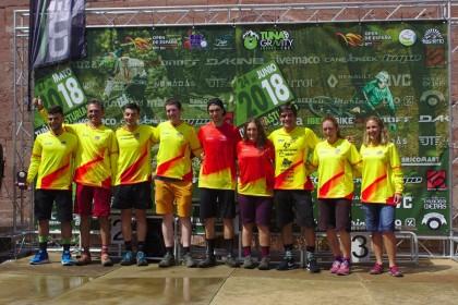 Gabriel Torralba y Miriam Alcántara campeones  del Open de España de Enduro