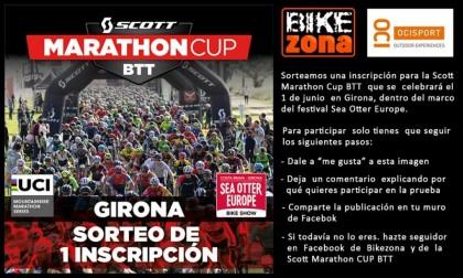 Gana una inscripción para la Scott Marathon Cup BTT que se celebra en Sea Otter