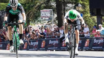 Giacomo Nizzolo primer lider de la Vuelta a Burgos