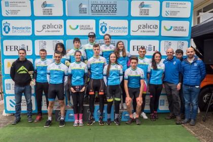 González y Trabazo más líderes de la Copa de Galicia de CX