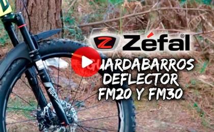 Guardabarros Deflector de Zefal, en tu bicicleta todo el año