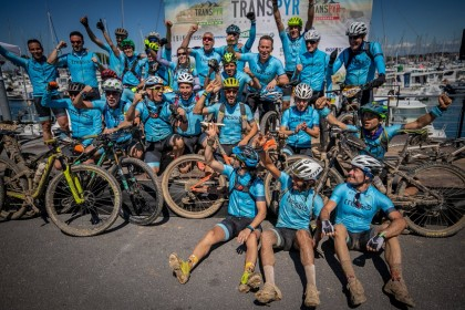 Hondarribia recibe a los participantes de la 10a Transpyr Coast to Coast