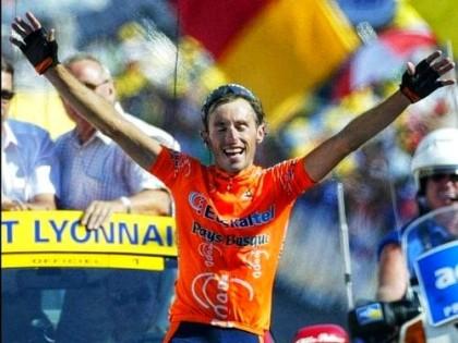 Iban Mayo charla sobre ciclismo en Pedaleando en la Costa