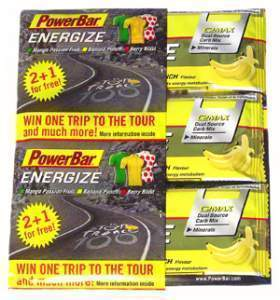 Powerbar proveedor oficial del Tour de Francia 2013