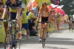 Ion Izagirre con los mejores en el Tour de Polonia