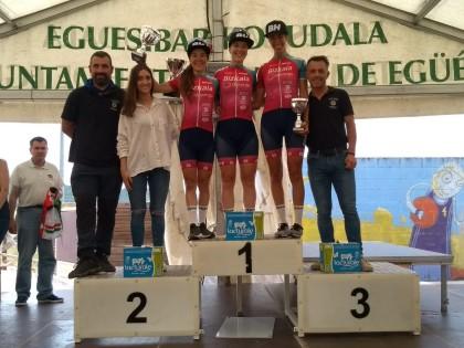 Isabel Martín encabeza el triplete del Bizkaia Durango en Elkano