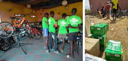 ISB Sport colaborador de Bicicletas sin Fronteras