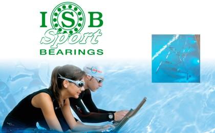 ISB Sport y Poolbiking: La fiabilidad de los ISB rondamientos también bajo el agua