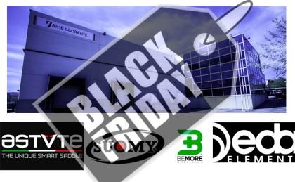Jaime Llorente se suma al Black Friday con descuentos en Astute, Suomy, Bemore y muchas más marcas