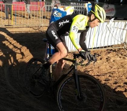 Javier Ruiz de Larrinaga puso final a su temporada de ciclocross
