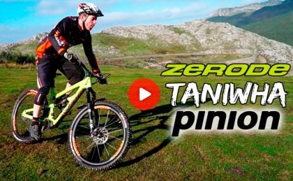 José Antonio Diez Arriola te presenta su nueva máquina: Zerode Taniwha Pinion