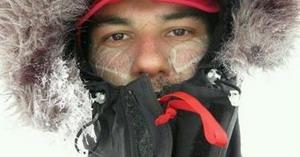 Juan Menéndez Granados alcanza el Polo Sur en bicicleta