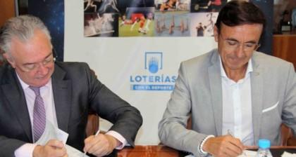 La Federación Española de Triatlón suma el apoyo de Loterías y Apuestas del Estado