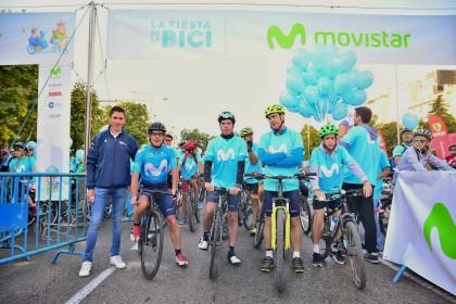 La Fiesta de la Bici vuelve a conquistar Madrid