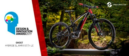 La Ghost HybRide SL AMR X gana el premio Design & Innovation Award 2019