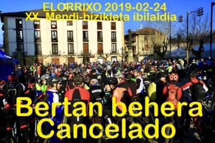 La marcha BTT Elorrio se despide 20 años después tras el decreto de Diputación