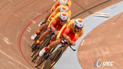 La selección de ciclismo en pista junior y sub23 prepara el Europeo
