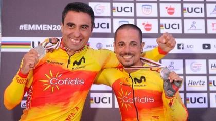 La Selección Española concluye con seis medallas el Mundial de Ciclismo Adaptado
