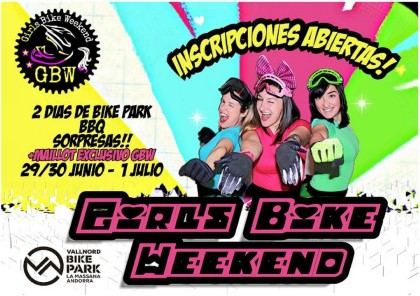 La V edición del Girls Bike Weekend abre inscripciones