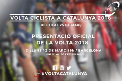 La Volta a Catalunya 2018 se presenta renovada