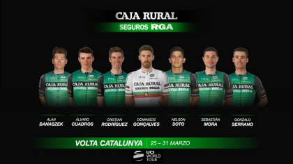 La Volta a Catalunya abre el calendario World Tour de Caja Rural-Seguros RGA